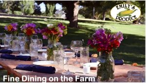 Fine Dining on the Farm - SOLD OUT @ Emily's Produce | Cambridge | Maryland | United States