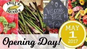 Opening Day! @ Emily's Produce | Cambridge | Maryland | United States
