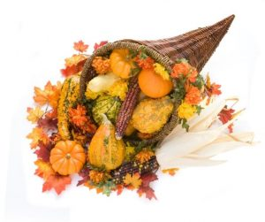 Make a Cornucopia Centerpiece
