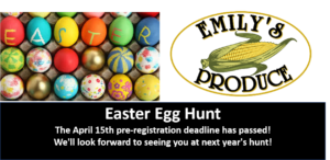 2019 Easter Egg Hunt @ Emily's Produce
