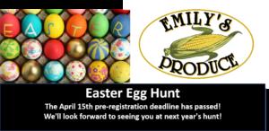 2019 Easter Egg Hunt @ Emily's Produce