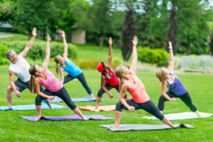 FREE Sip & Stretch Yoga