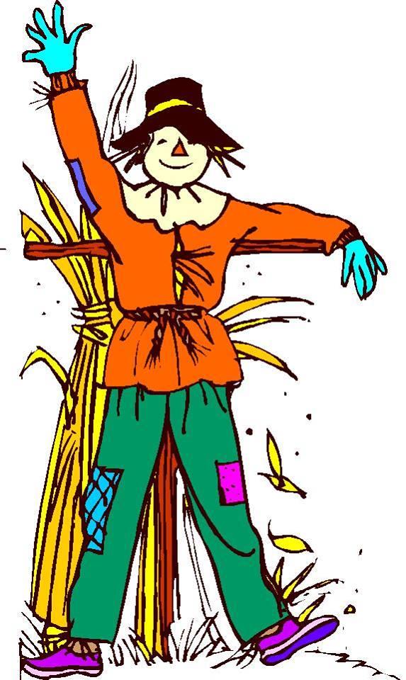 Scarecrow Making Day – FREE Kid Craft