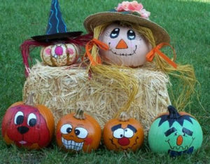 Paint a Pumpkin Day - FREE Kid Craft