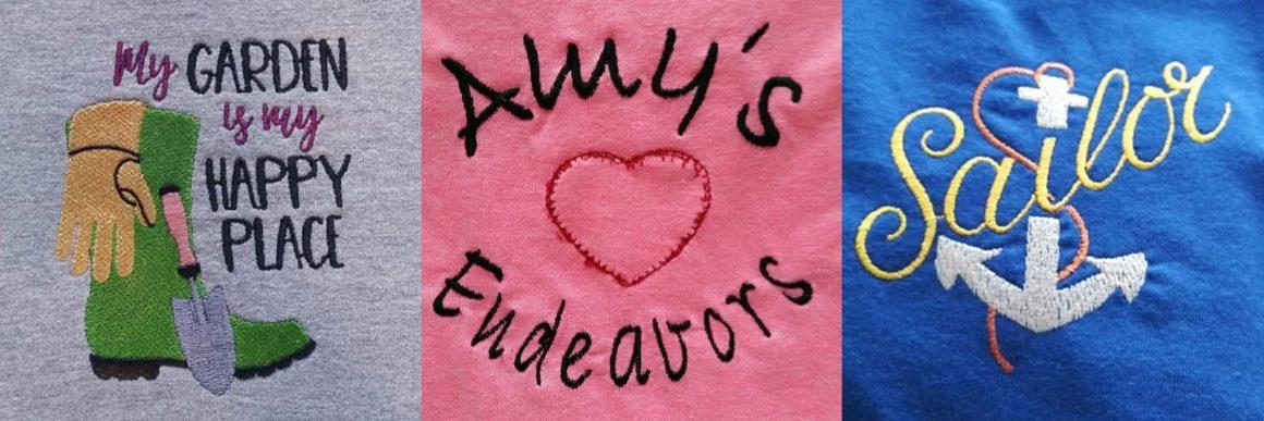 Vendor Pop Up – Amy's Endeavors