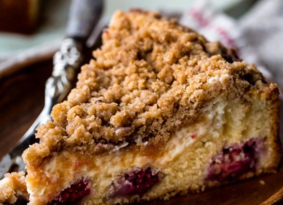 Blackberry Crumb Cake