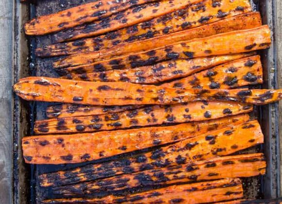 Grilled and Glazed Carrots