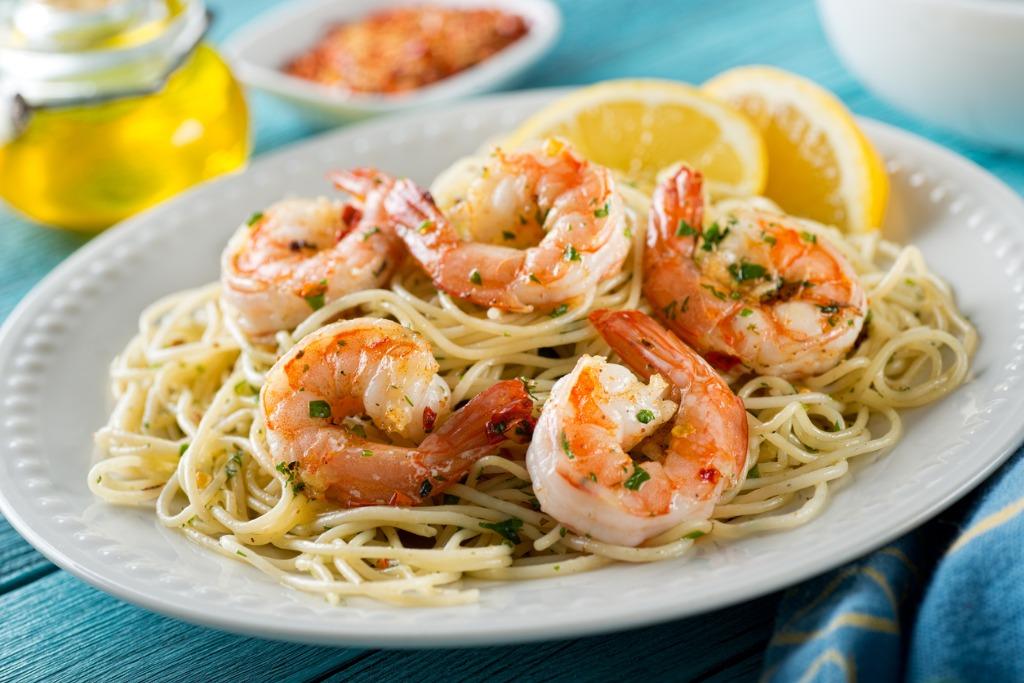 Garlic Shrimp & Pasta – Cooking Kit Recipe