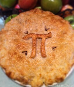 Apple Pie for Pi Day