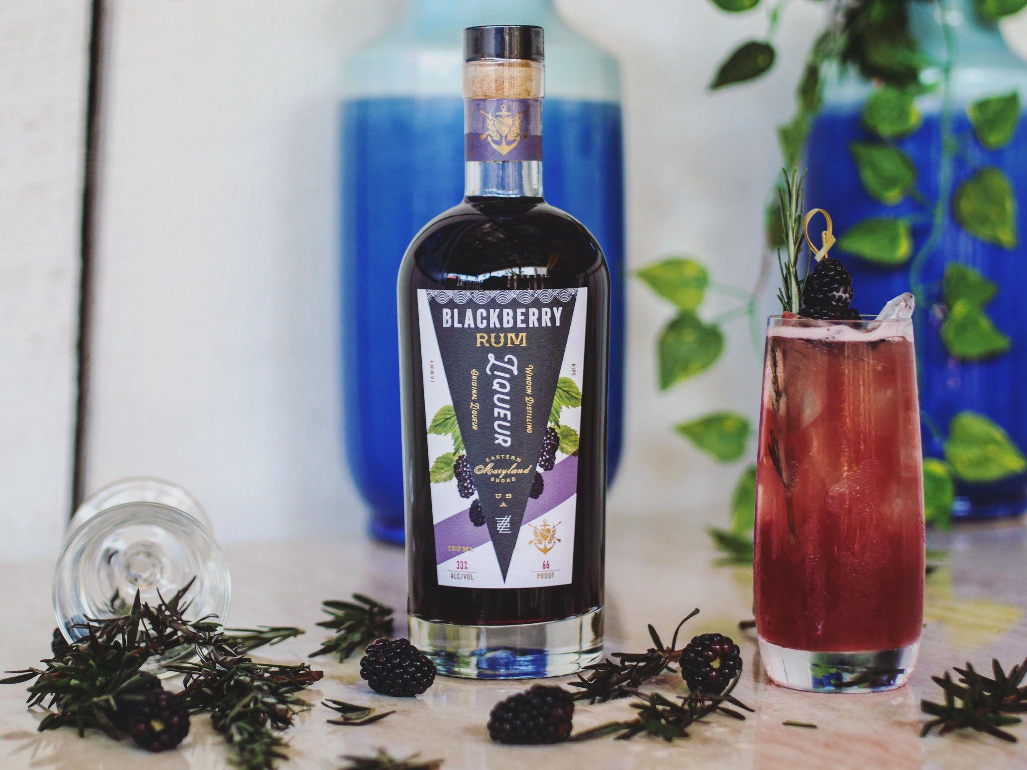 Blackberry Rum Release Event! @ Emily's Produce