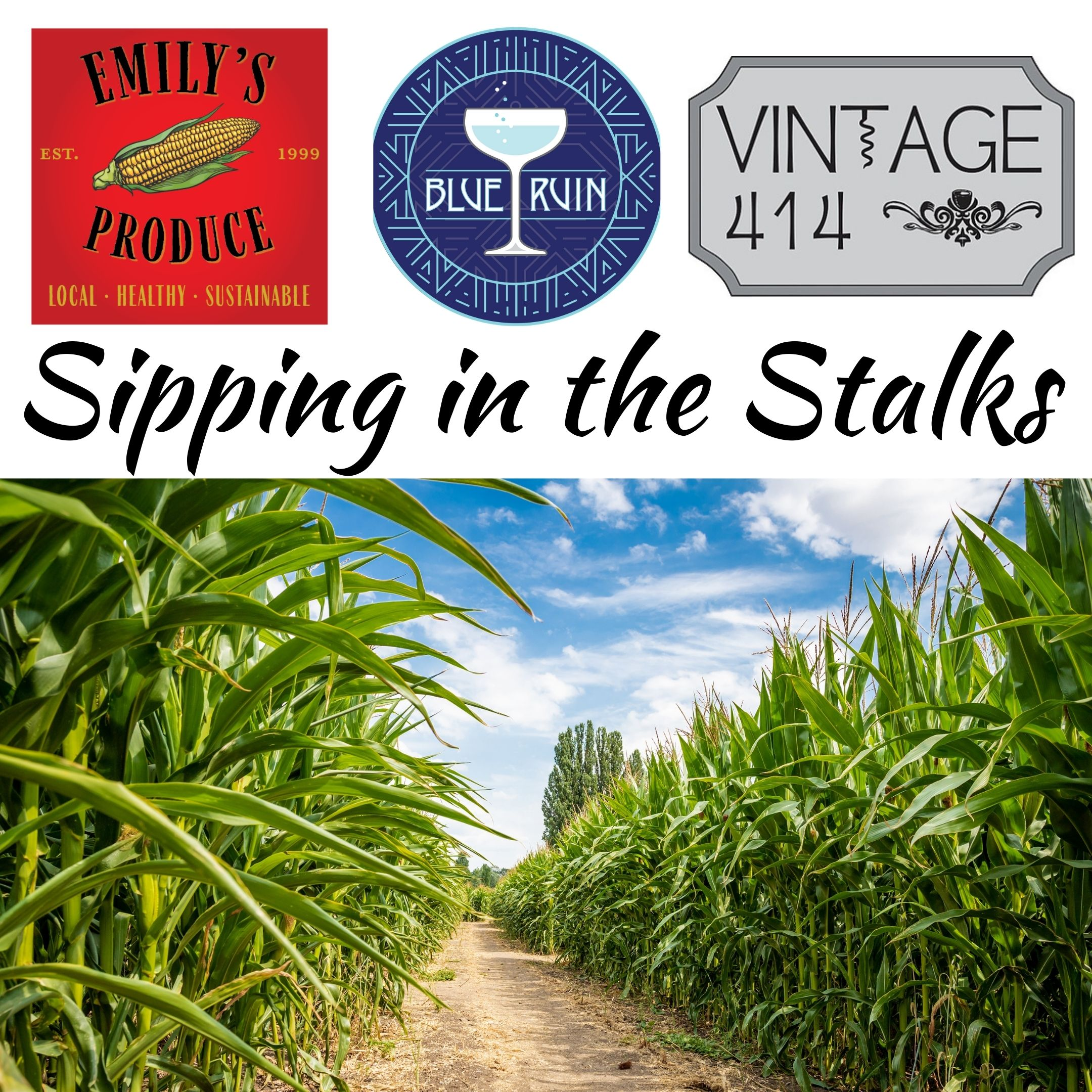 Sipping in the Stalks @ Emily's Produce